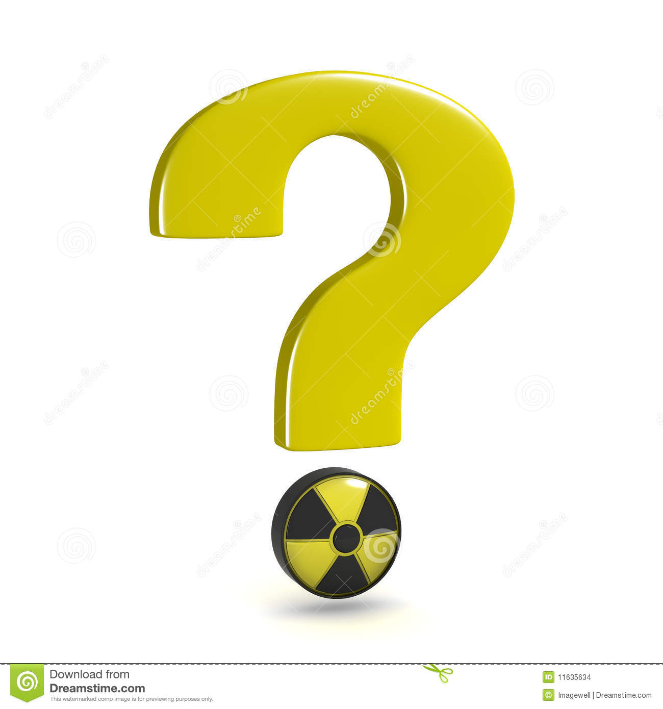 Question Mark Nuclear Stock Images Image 11635634