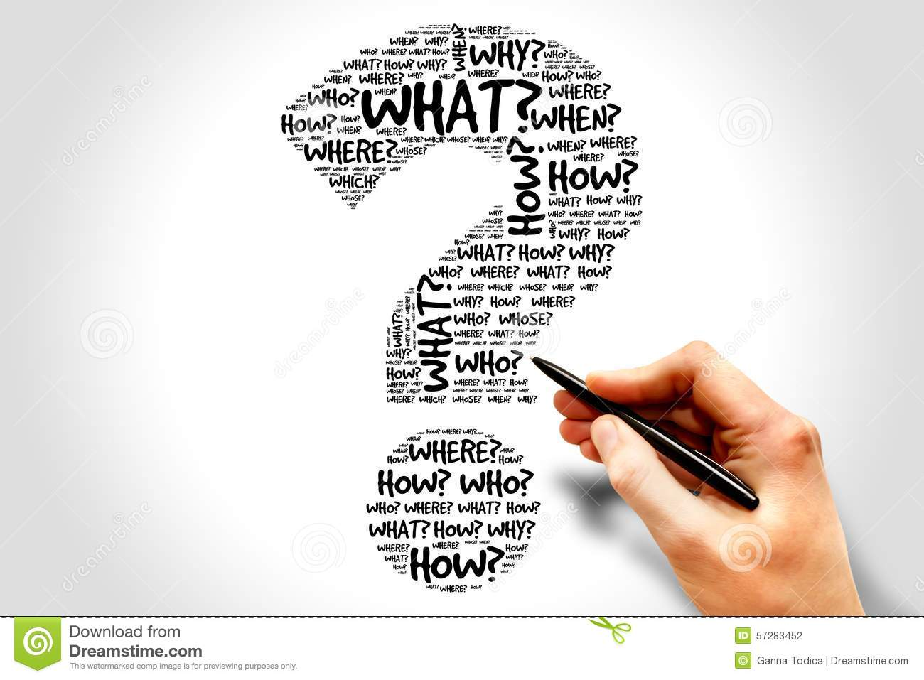 Question mark stock photo. Image of over, show, business ...