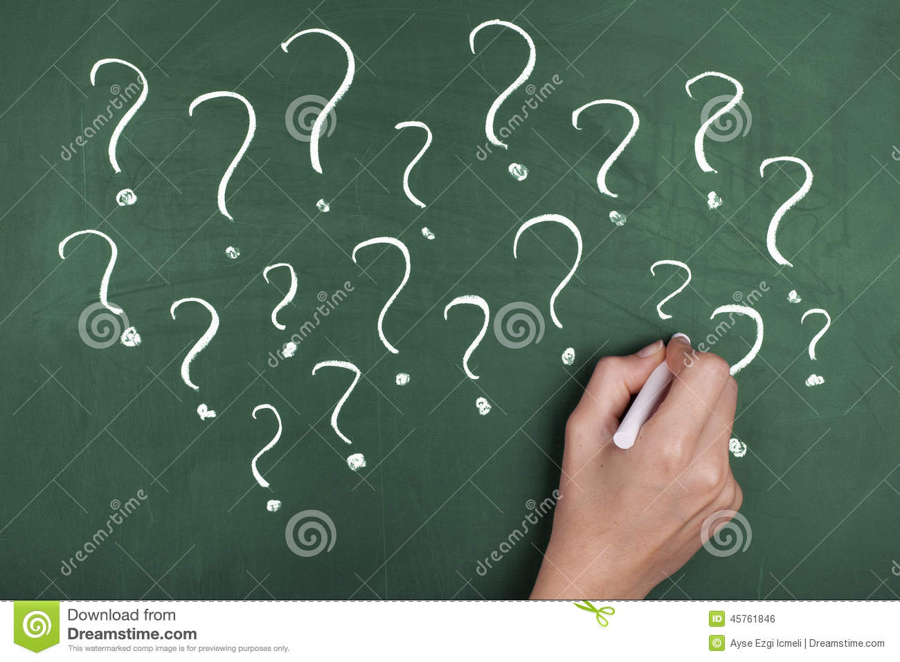 Question marks confusion stock photo image of asking