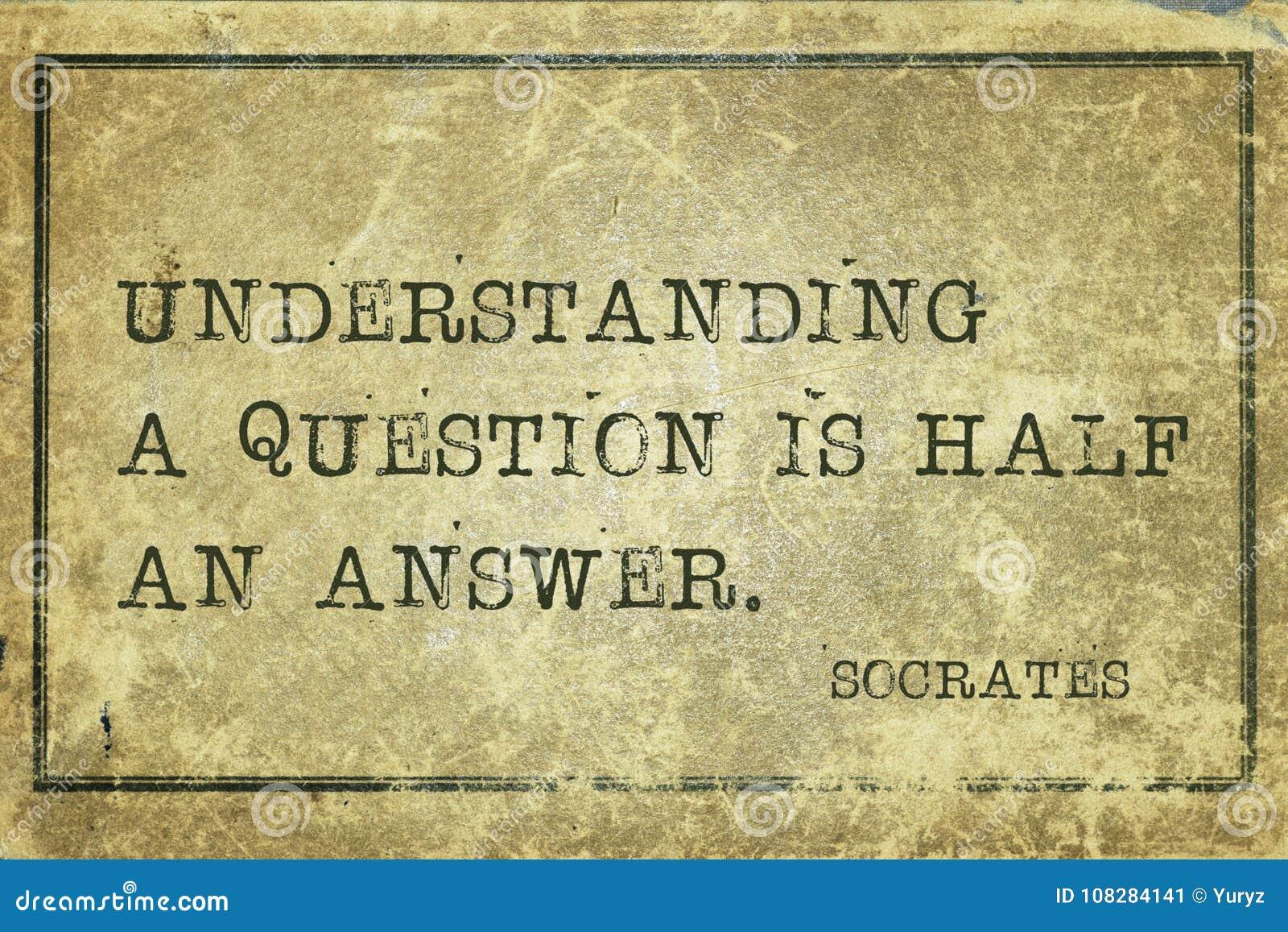 Question Socrates