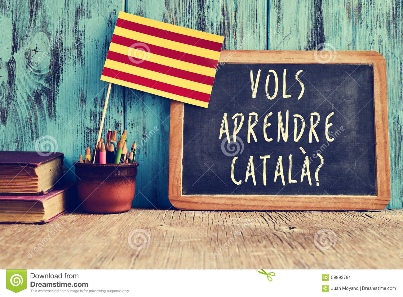 question vols aprendre catala do you want to learn catalan stock image image 59893781. Black Bedroom Furniture Sets. Home Design Ideas