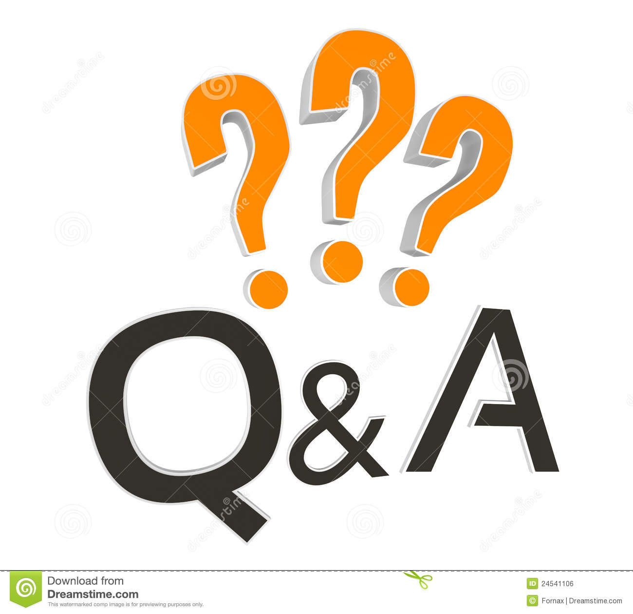 Any Questions Animation Stock Image Questions And