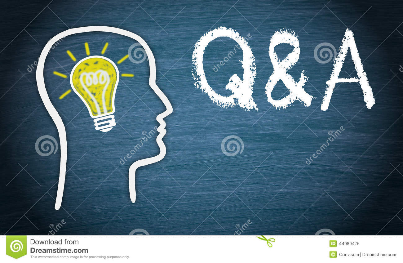 questions and answers stock photo image  questions and answers