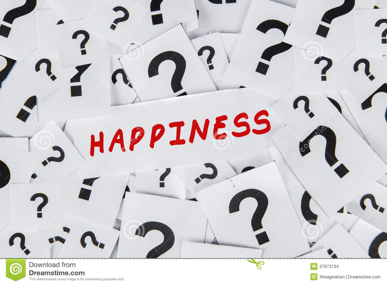Happiness and question