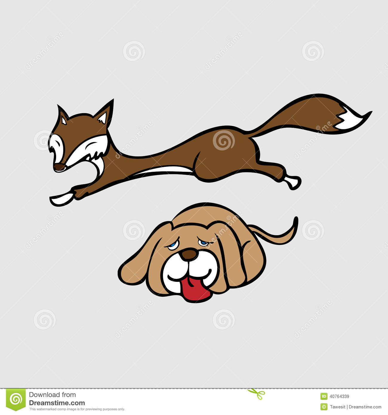 quick brown fox jump over lazy dog stock vector image free clip art of dog balloon in parade free clipart of dog bone