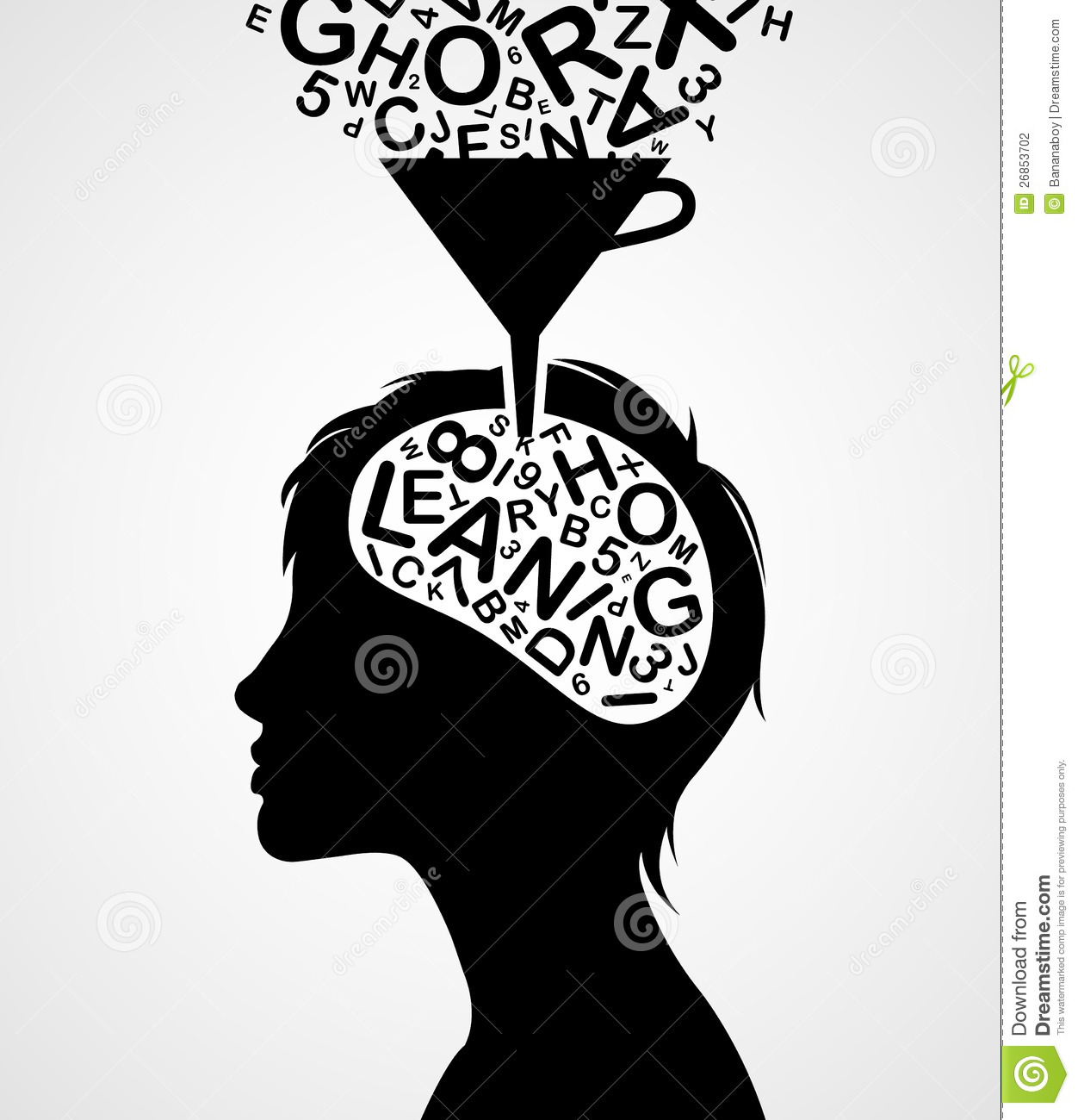 Quick Learning Silhouette Stock Vector Image Of Answer