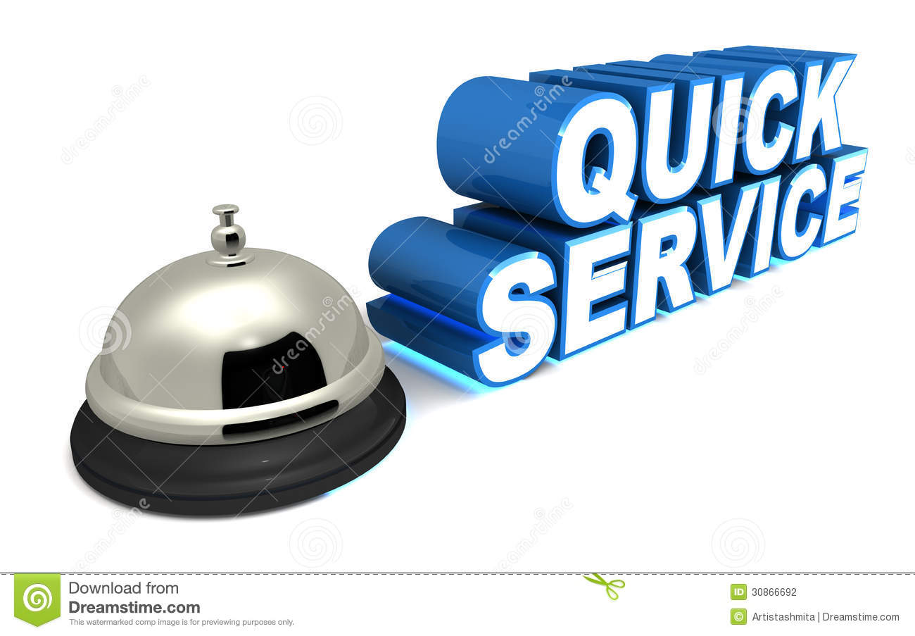 Quick Service Stock Photography Image 30866692