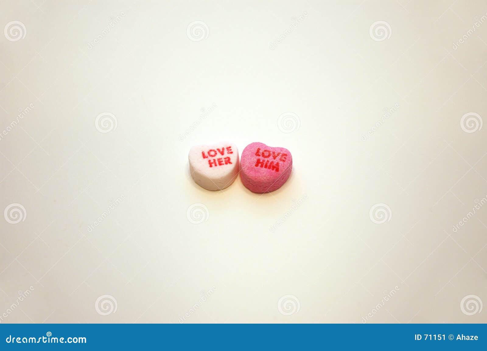 Quiera su amor él los corazones de la conversación del día de tarjetas del día de San Valentín