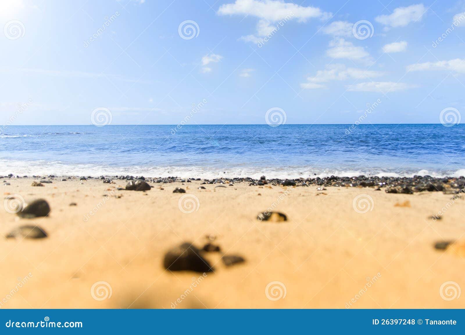 Quiet Beach Royalty Free Stock Photos - Image: 26397248