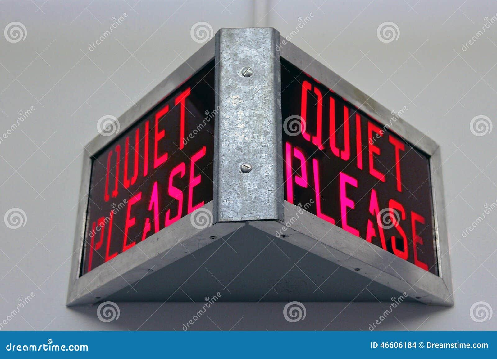 Quiet Please Testing Sign File Name  quiet-please-