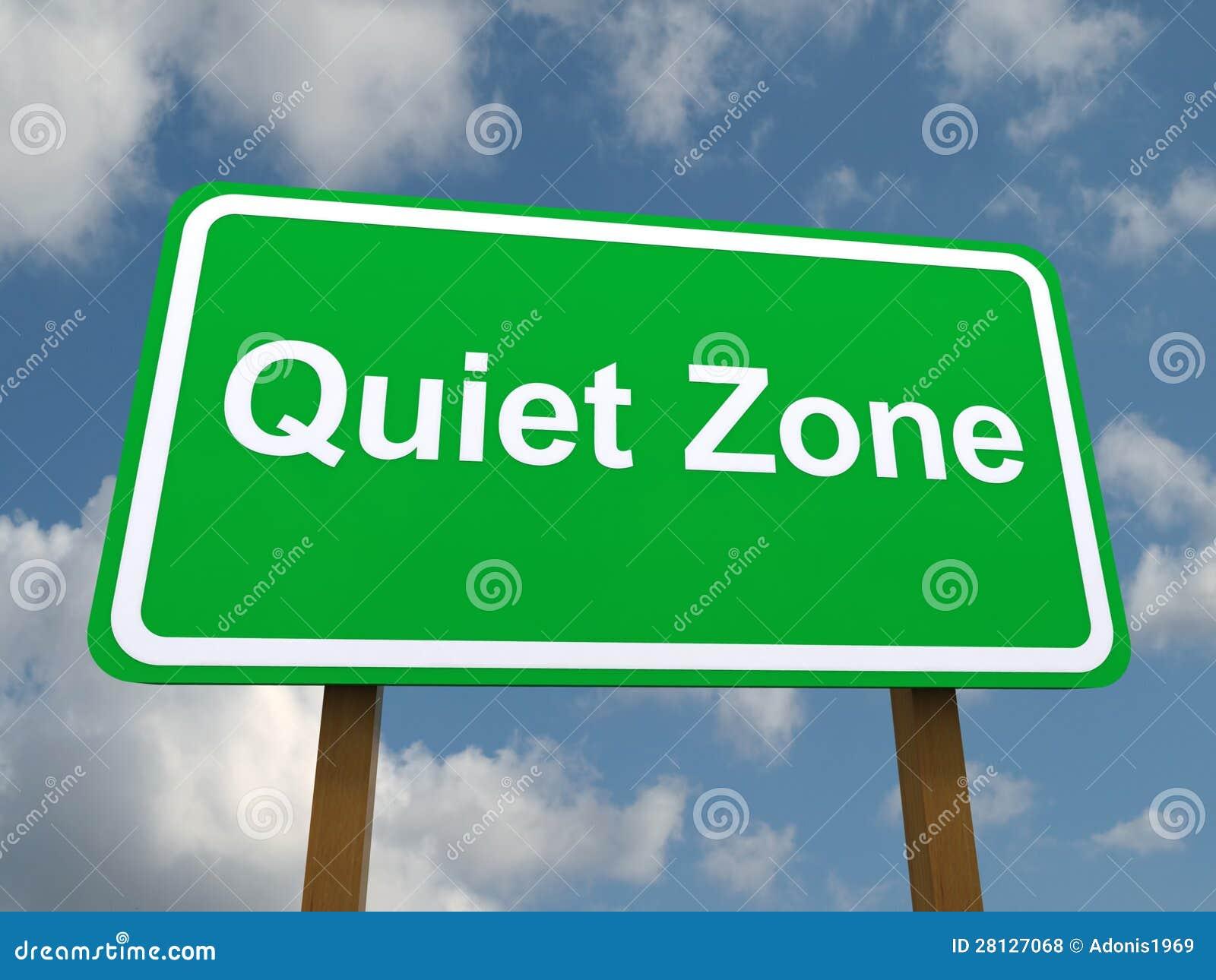 free clipart quiet zone - photo #16