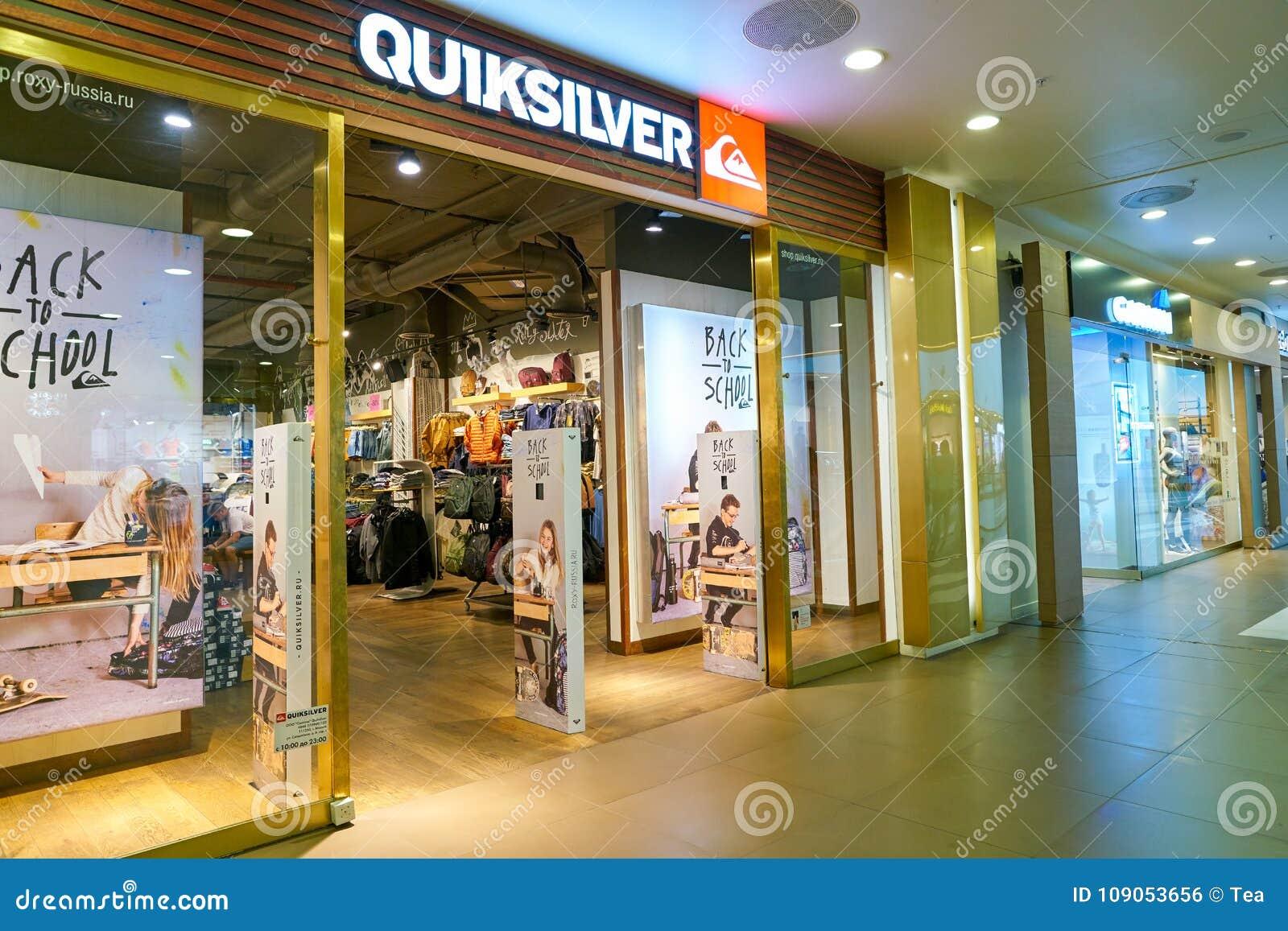 meerdere kleuren groothandel verkoop enorme korting Quiksilver store editorial photo. Image of clothingretail ...