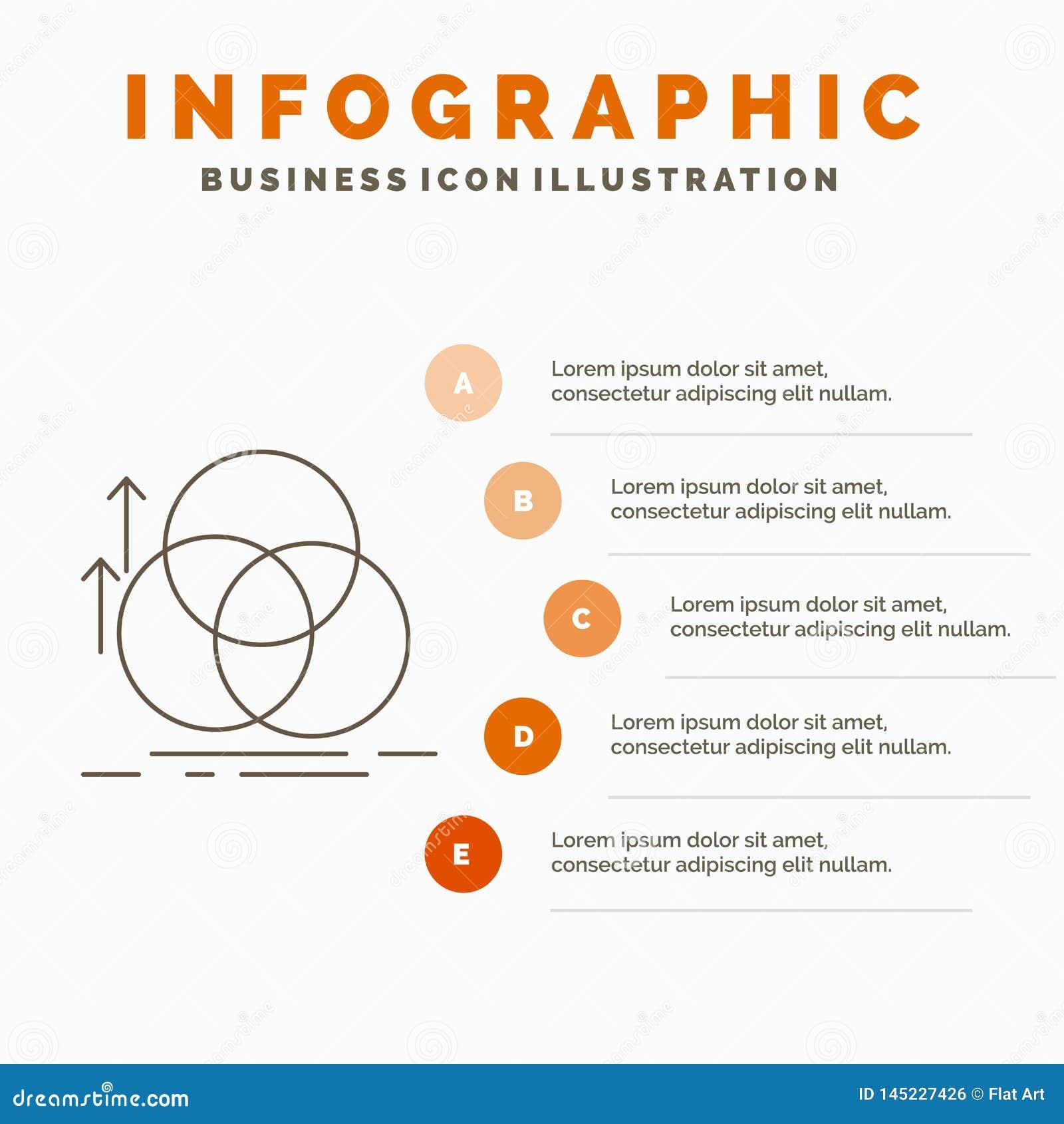 ?quilibre, cercle, alignement, mesure, calibre d Infographics de la g?om?trie pour le site Web et pr?sentation r