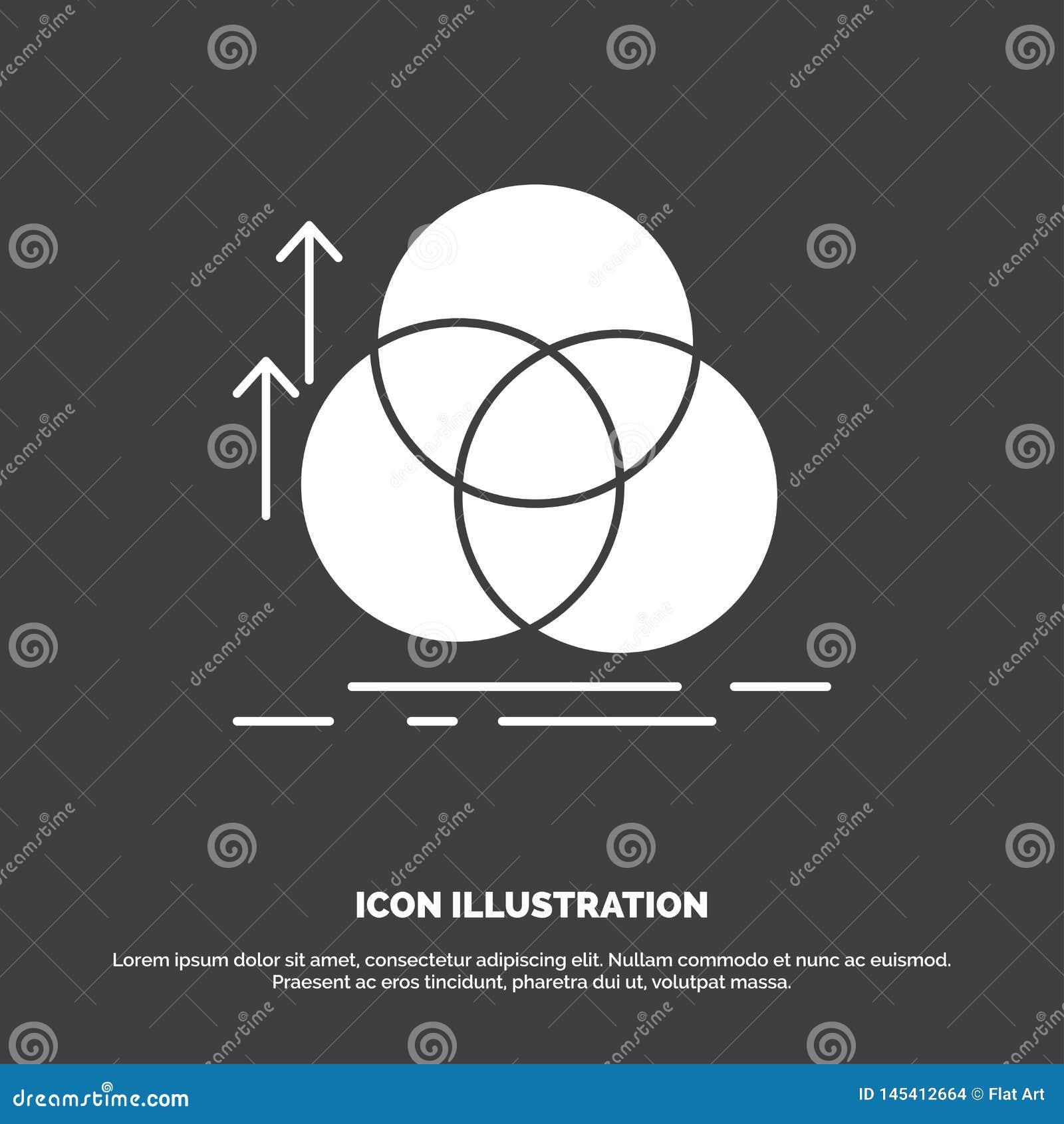 ?quilibre, cercle, alignement, mesure, ic?ne de la g?om?trie r