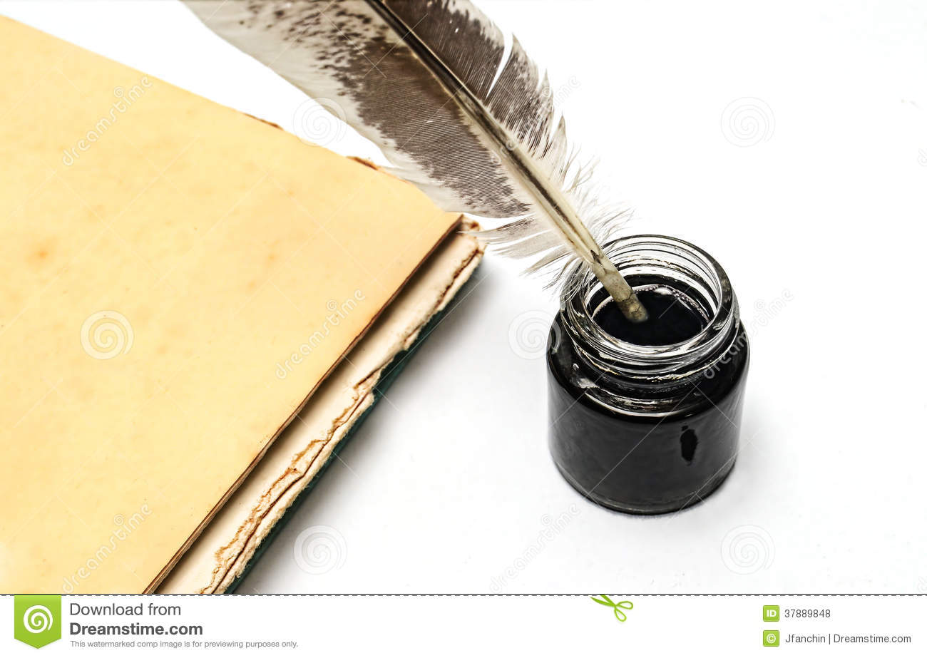 Quill And Inkwell Royalty Free Stock Photos - Image: 37889848Quill And Inkwell Image