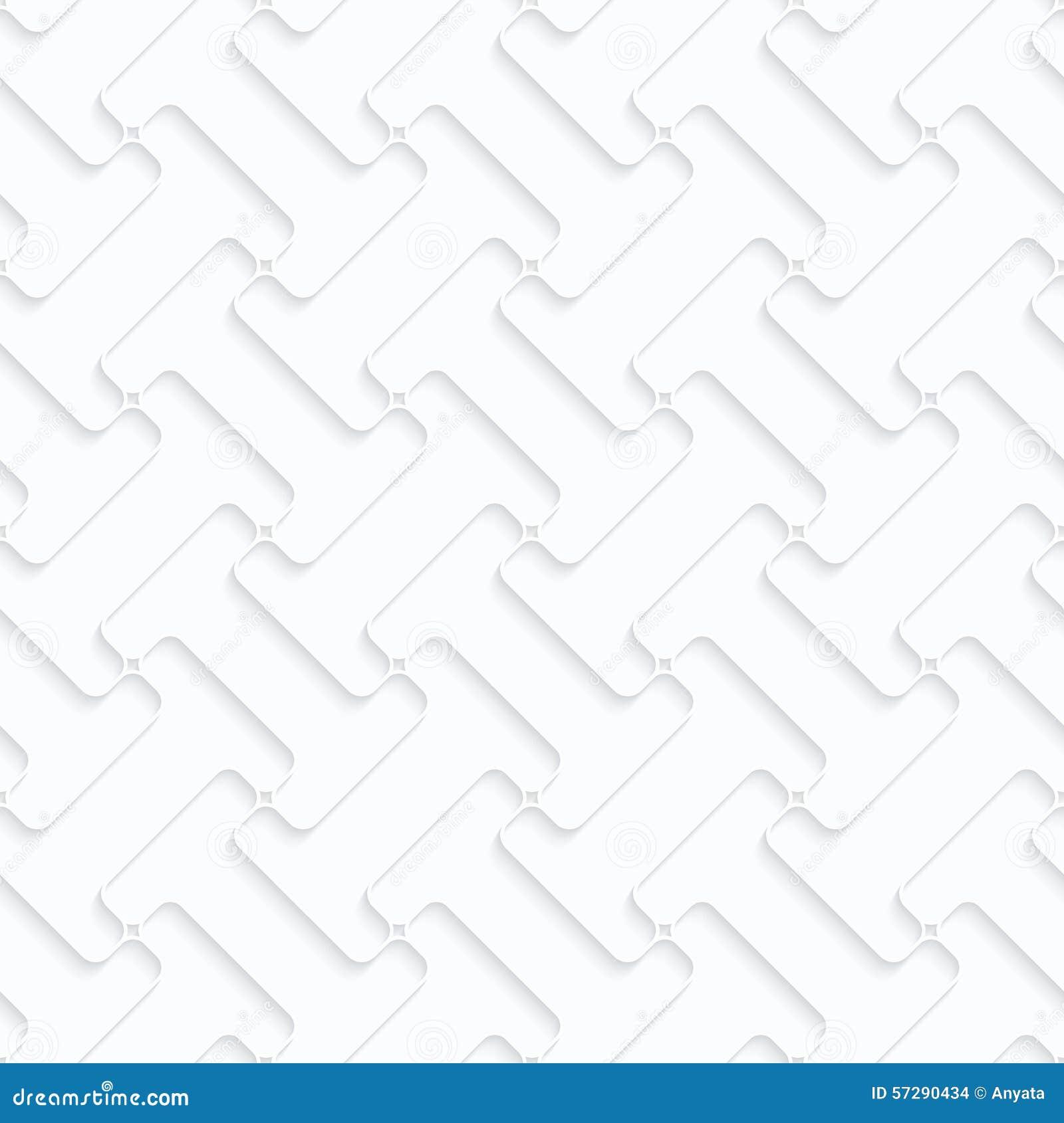 Quilling Paper Double T Shapes Grid Illustration 57290434 Megapixl