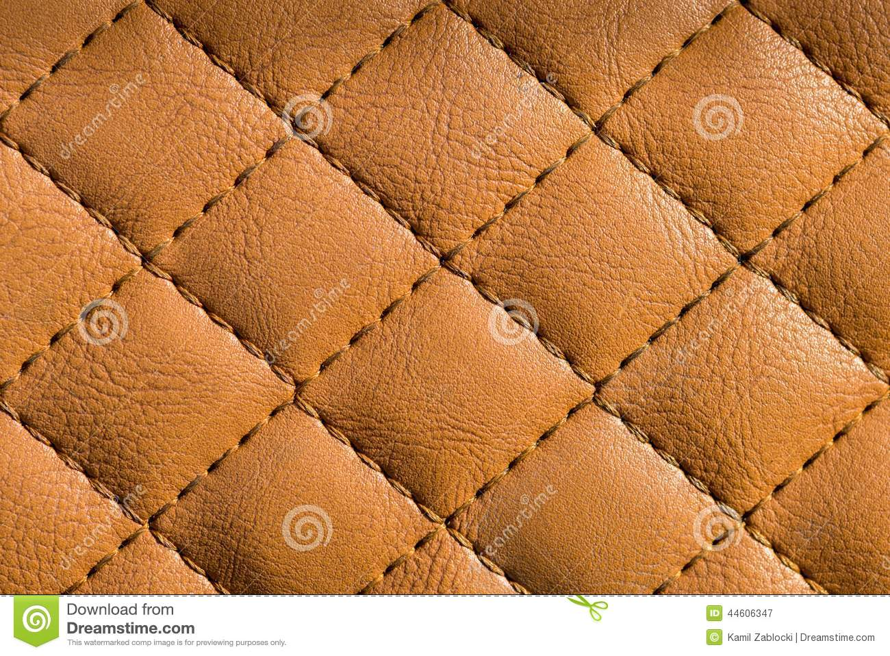 Quilted leather stock image. Image of seam, texture, quilt - 44606347 : leather quilt - Adamdwight.com