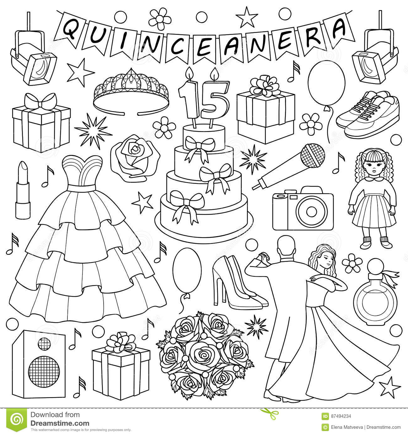 Sweet 16 birthday coloring pages sketch coloring page for Sweet sixteen coloring pages