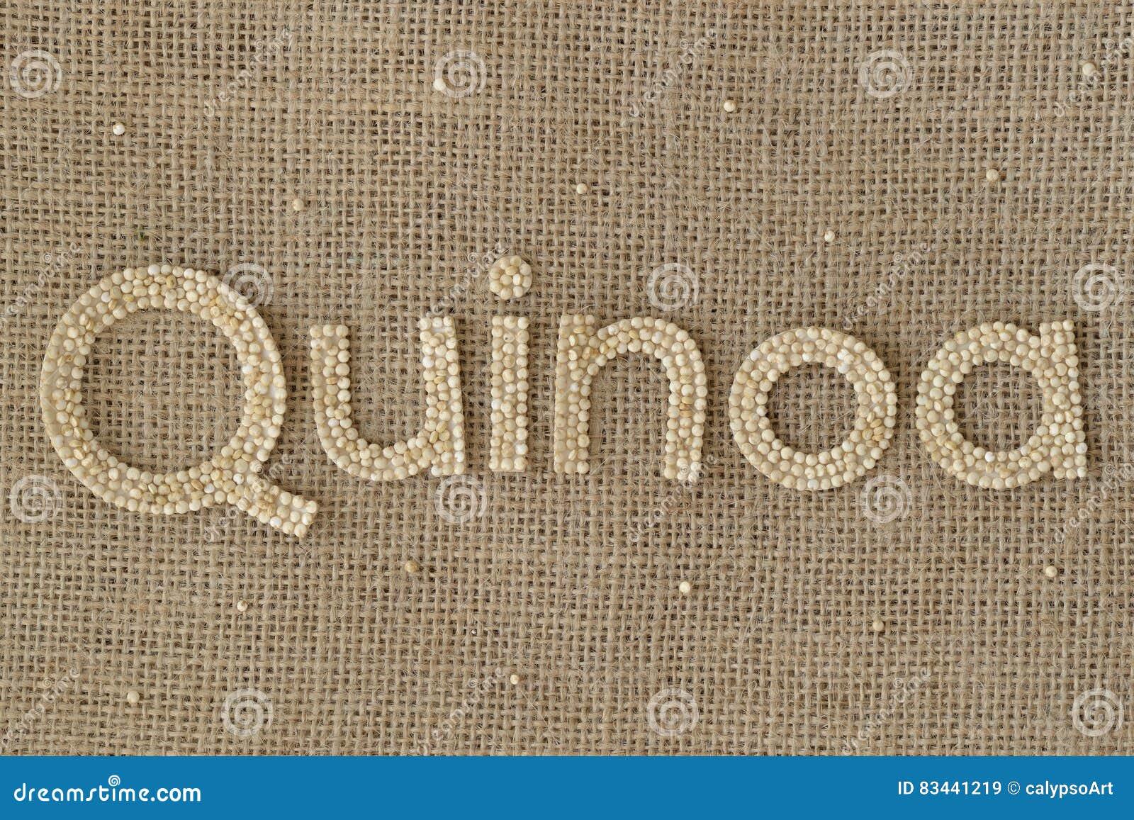Quinoa γράψιμο σιταριών