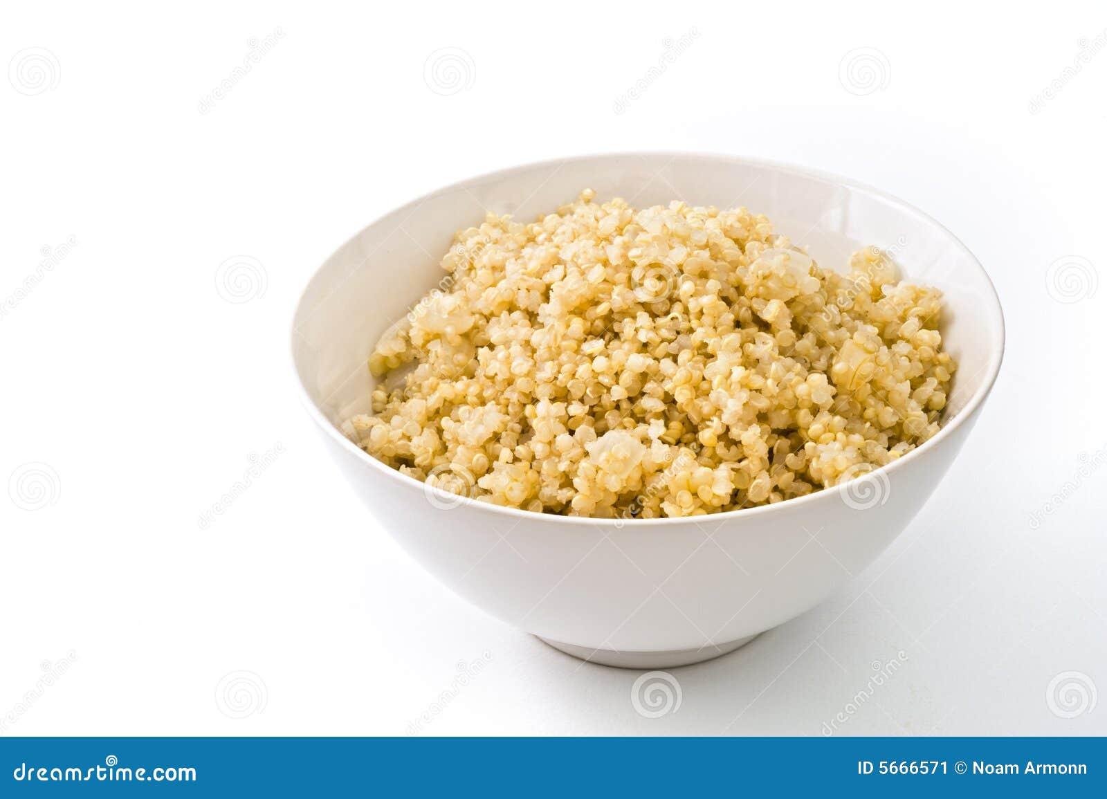 Quinoa cozinhado