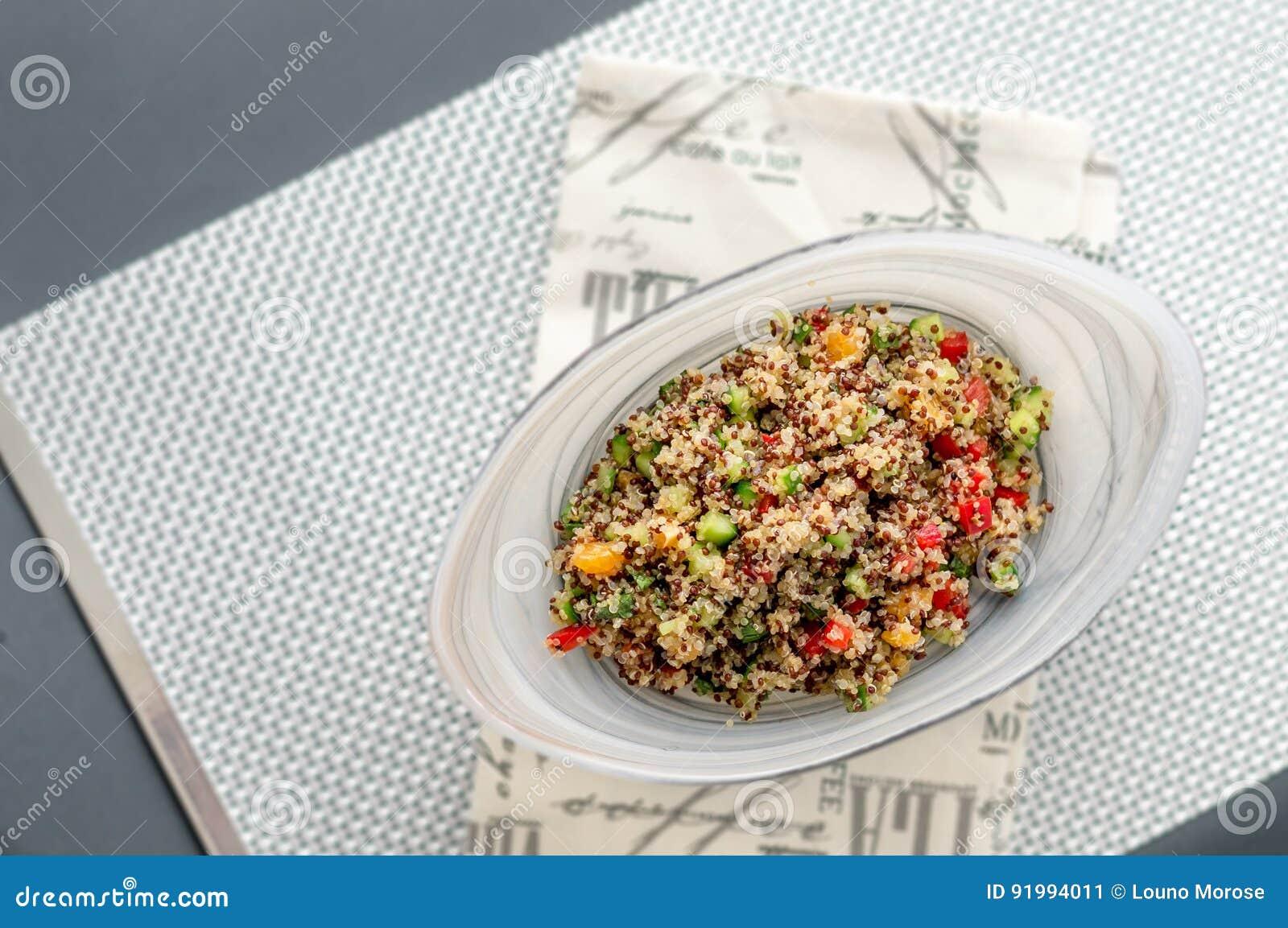 Quinoa sałatka Od Above