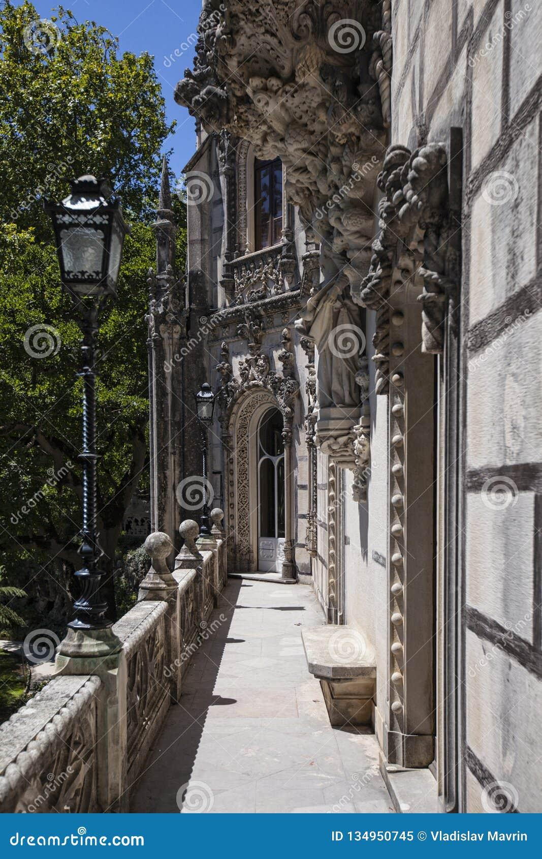 Quinta da Regaleira, Sintra, Португалия, 2012