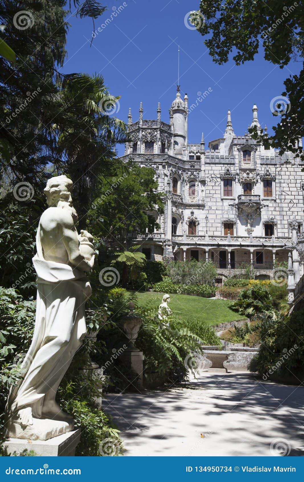 Quinta da Regaleira, Sintra, Portugal, 2012