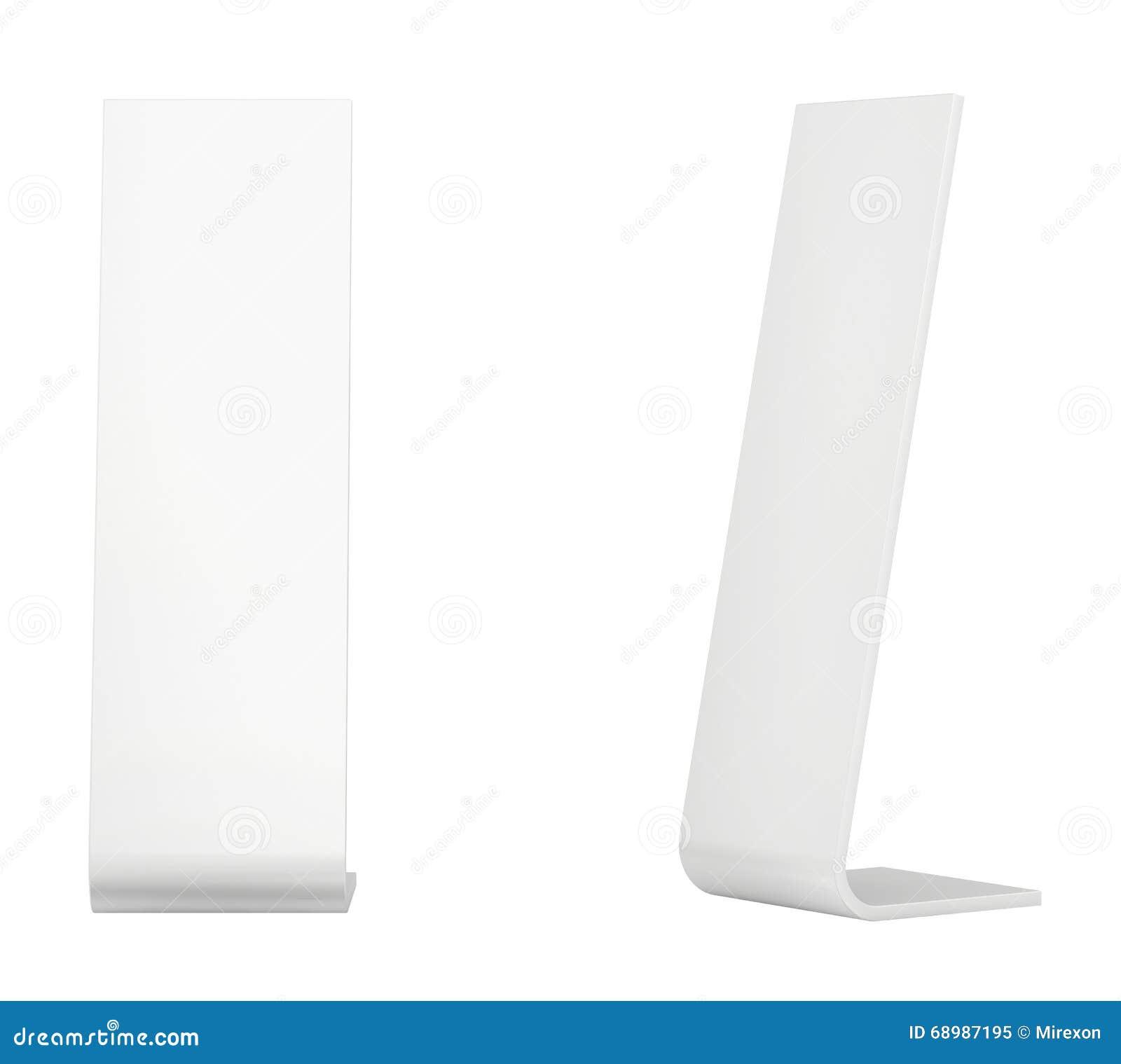 Quiosco de información Terminal de la información quiosco interactivo en el fondo blanco