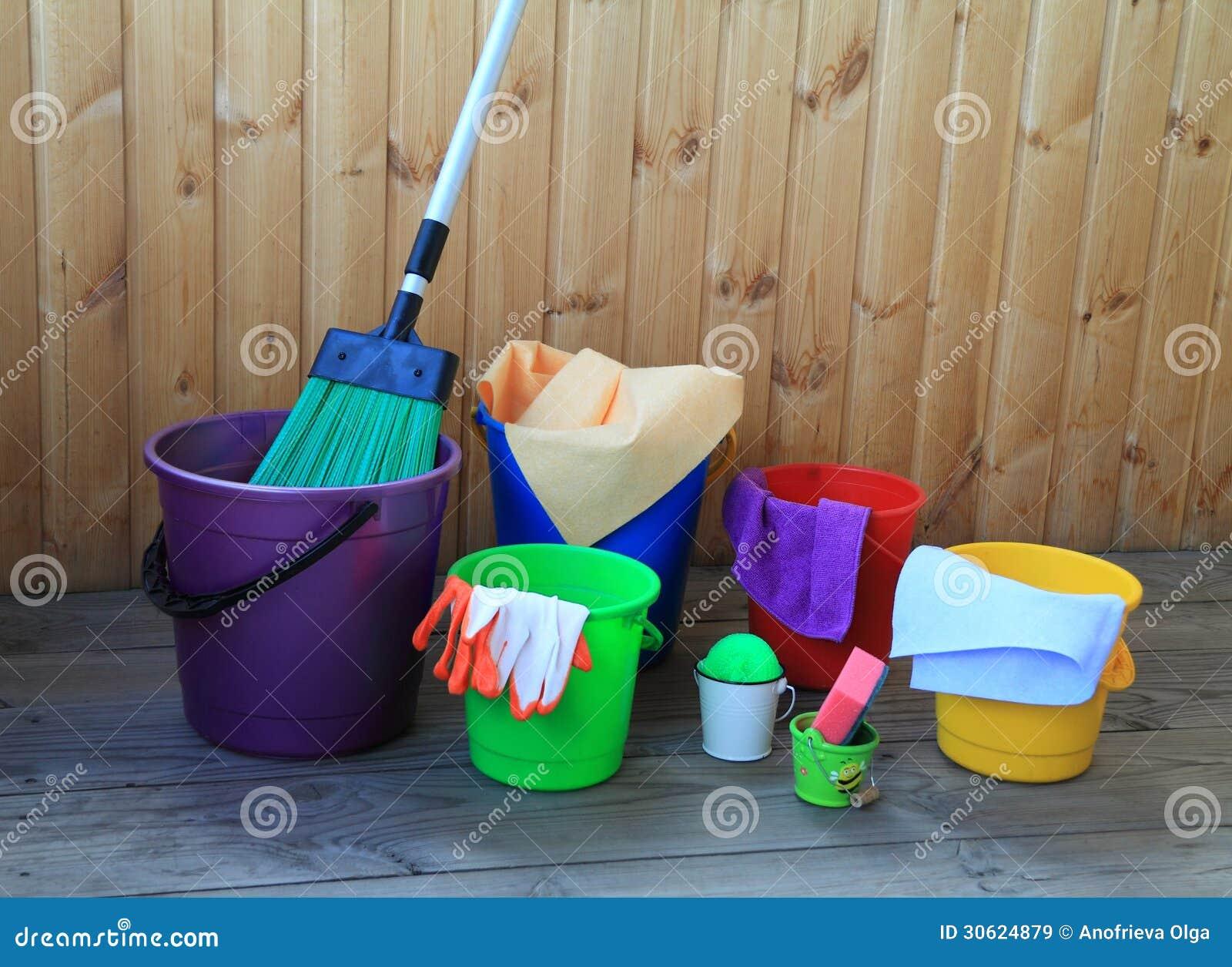 quipement pour nettoyer dans la maison images libres de droits image 30624879. Black Bedroom Furniture Sets. Home Design Ideas