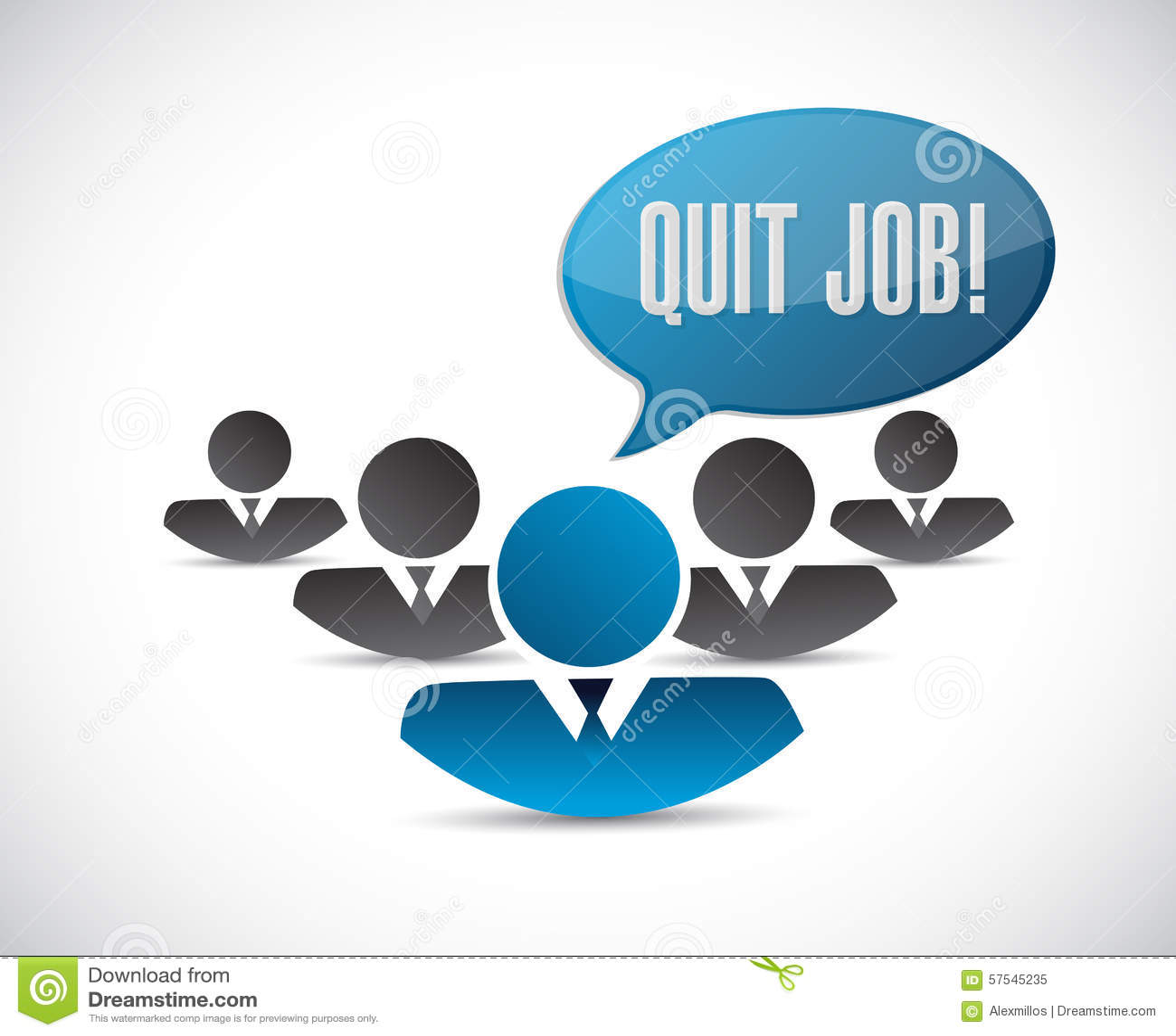 Stock options quit job