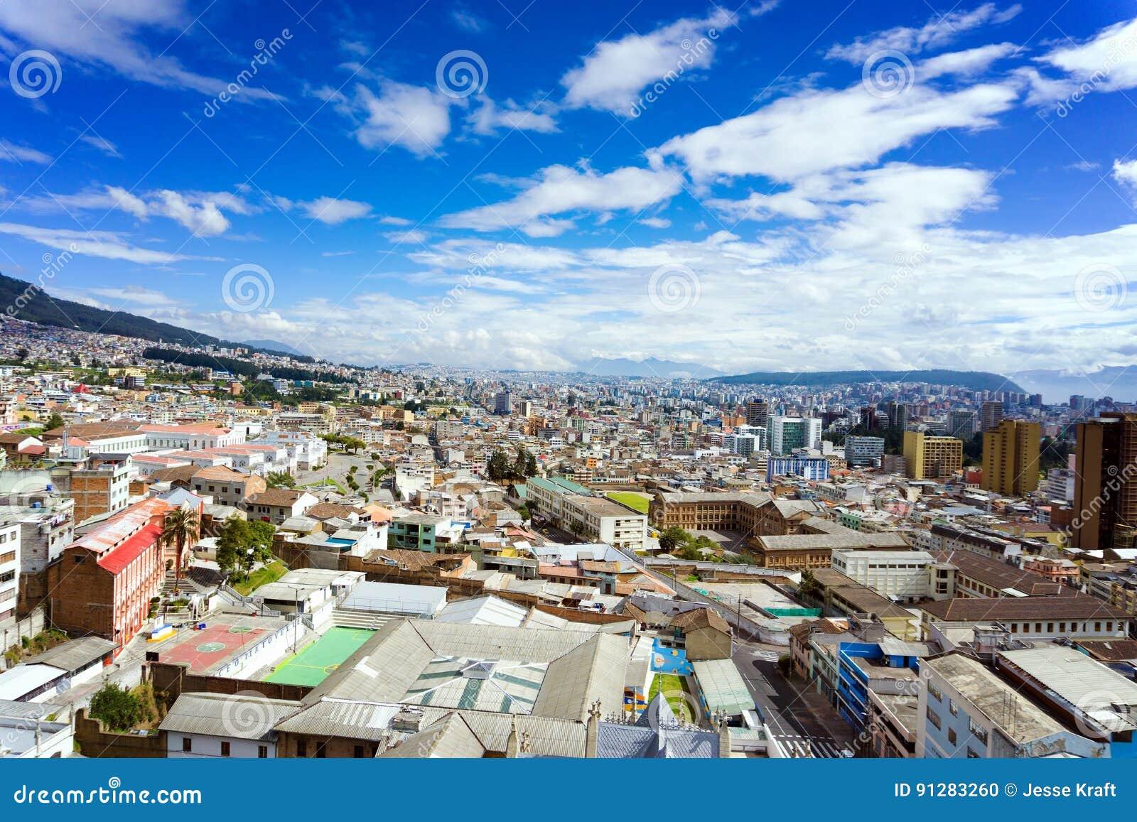 Quito Ecuador Cityscape