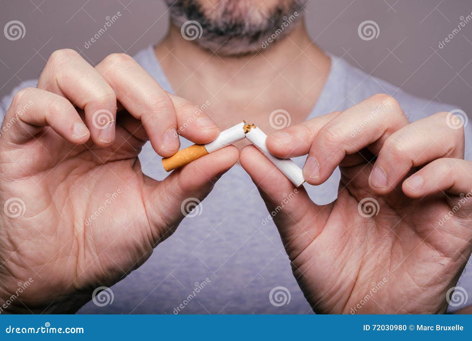 Quittez l image contre le tabac rendue par Smoking