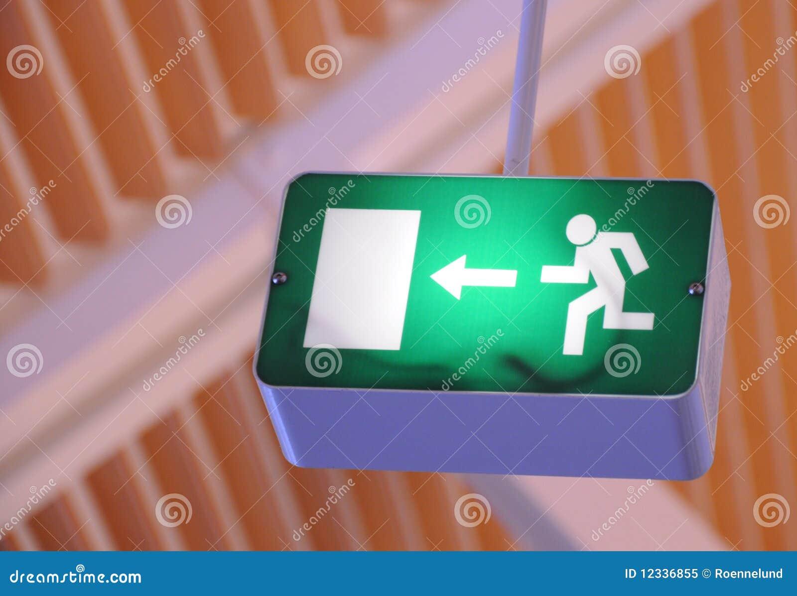 Quittez le signe, évasion d incendie