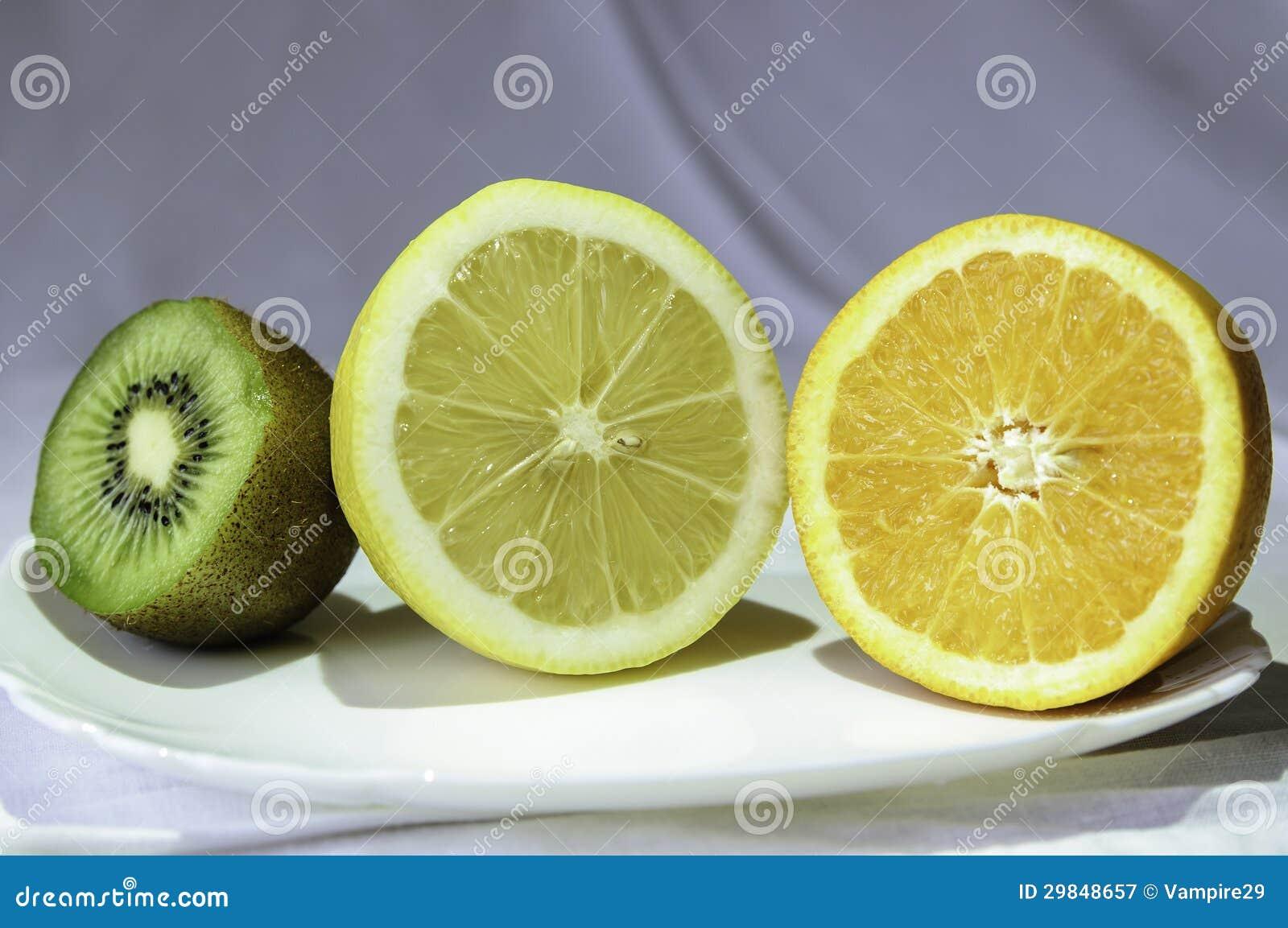 Fruto em uma bacia