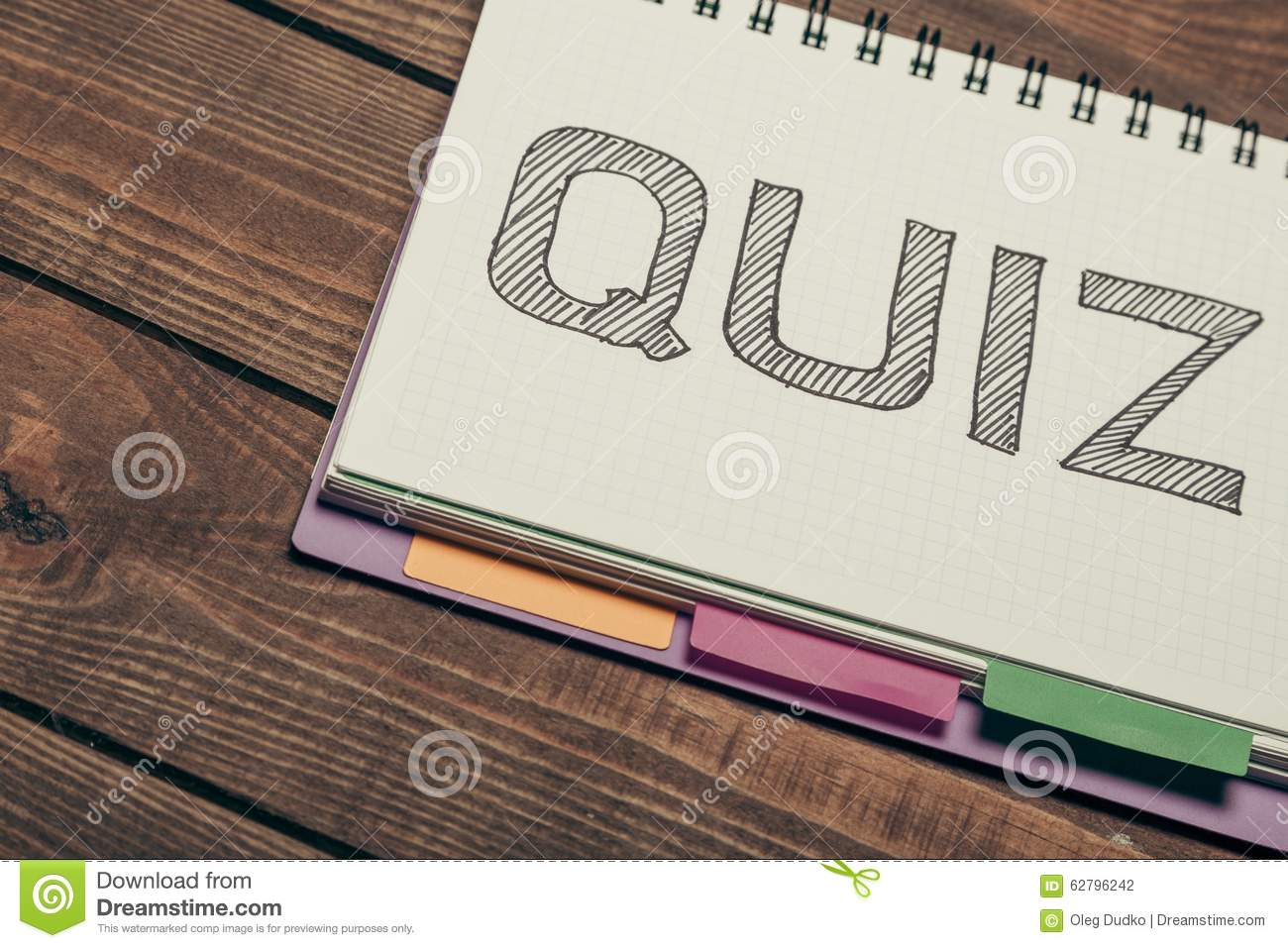 Quiz stock photo. Image of layout, word, review, card ...