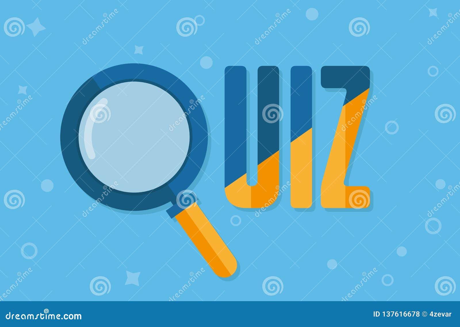 Quiz concept icon