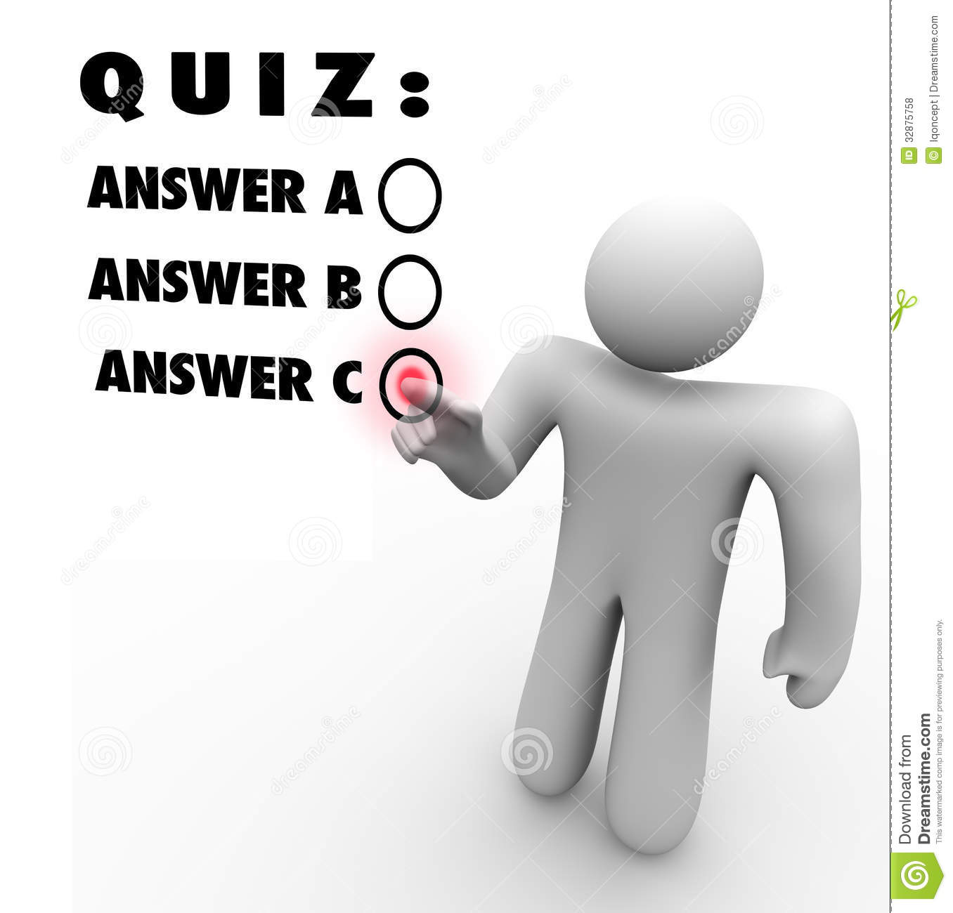 Quiz Time Clipart Quiz Multiple C...