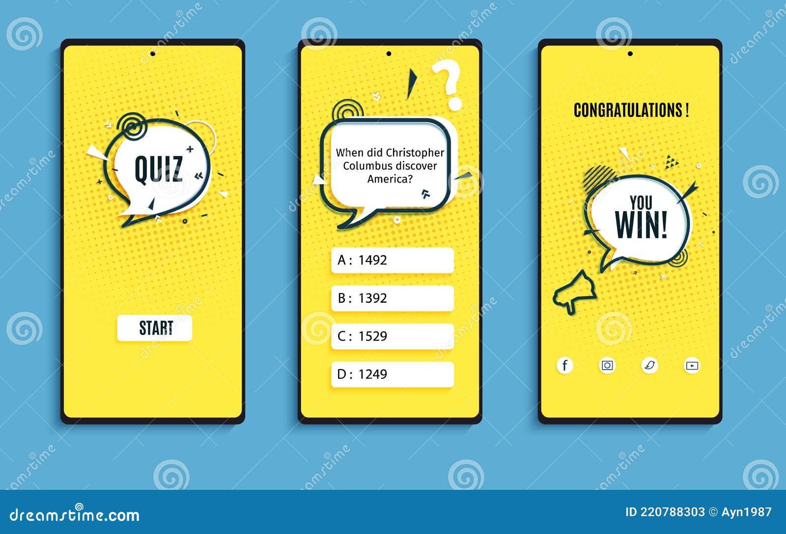 Quiz app nederlands