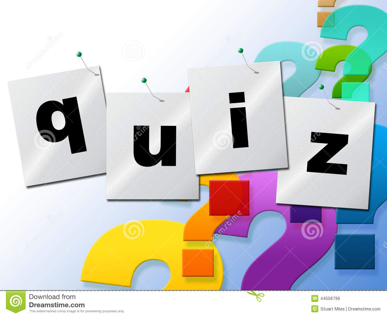 Art Quiz : Quiz questions means frequently puzzle and quizzes stock