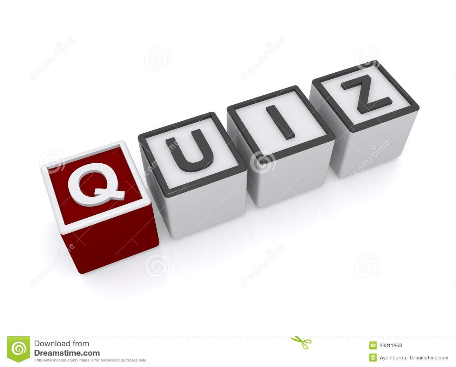 Quiz sign stock illustration  Illustration of letters - 36311653