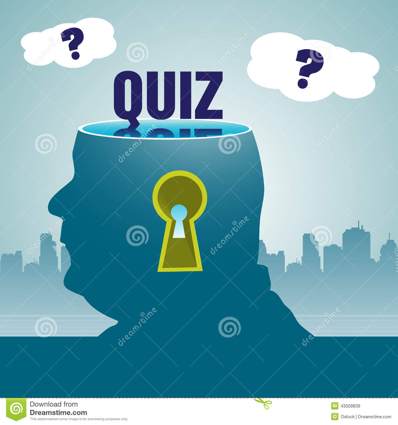 Quiz competition background