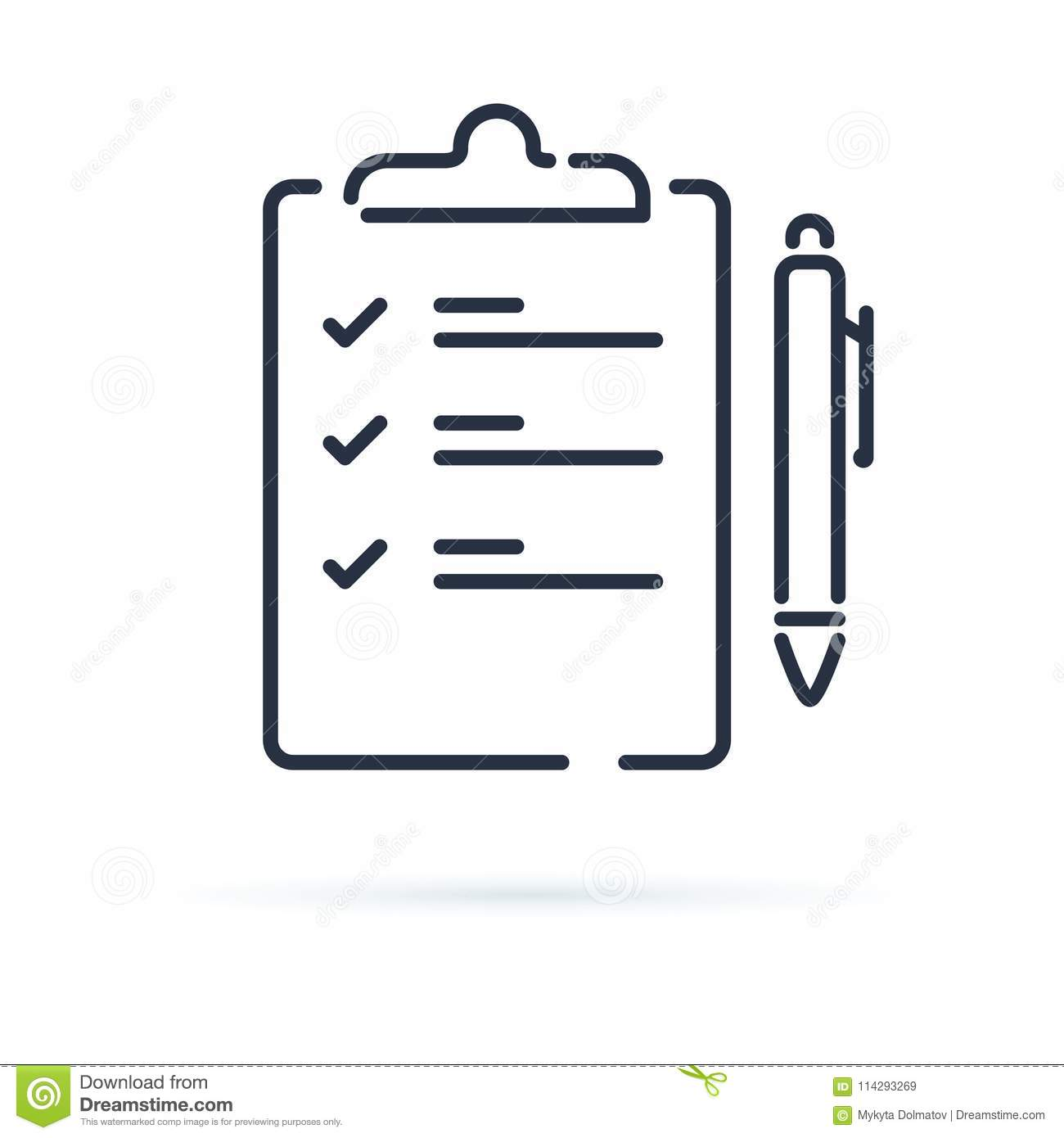 Quiz vector icon isolated on white background contract with a pen download quiz vector icon isolated on white background contract with a pen illustration business altavistaventures Image collections