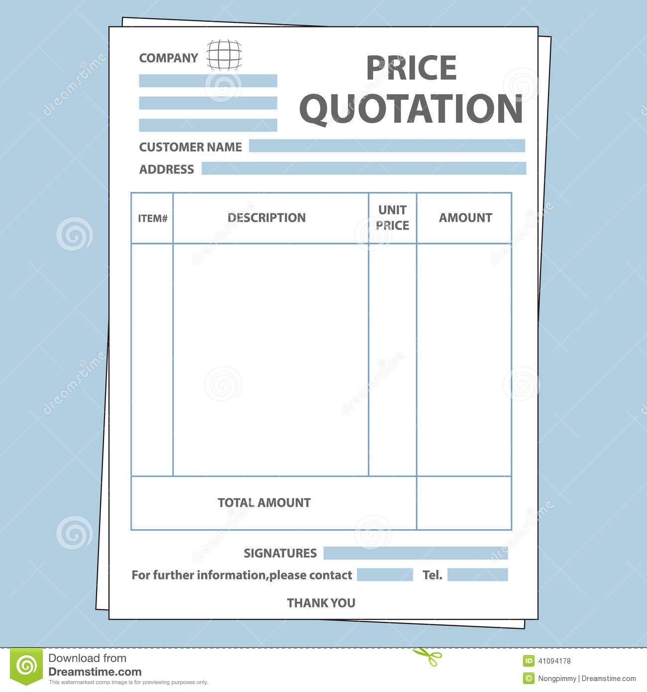 quote sheet template gerhard leixltk
