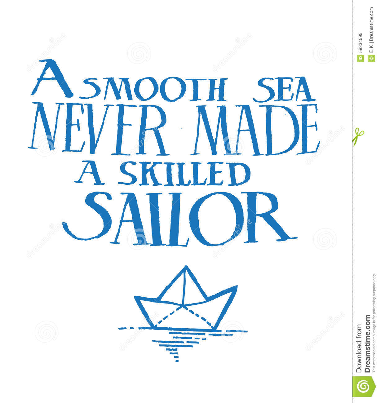 quote stock vector image 58334595