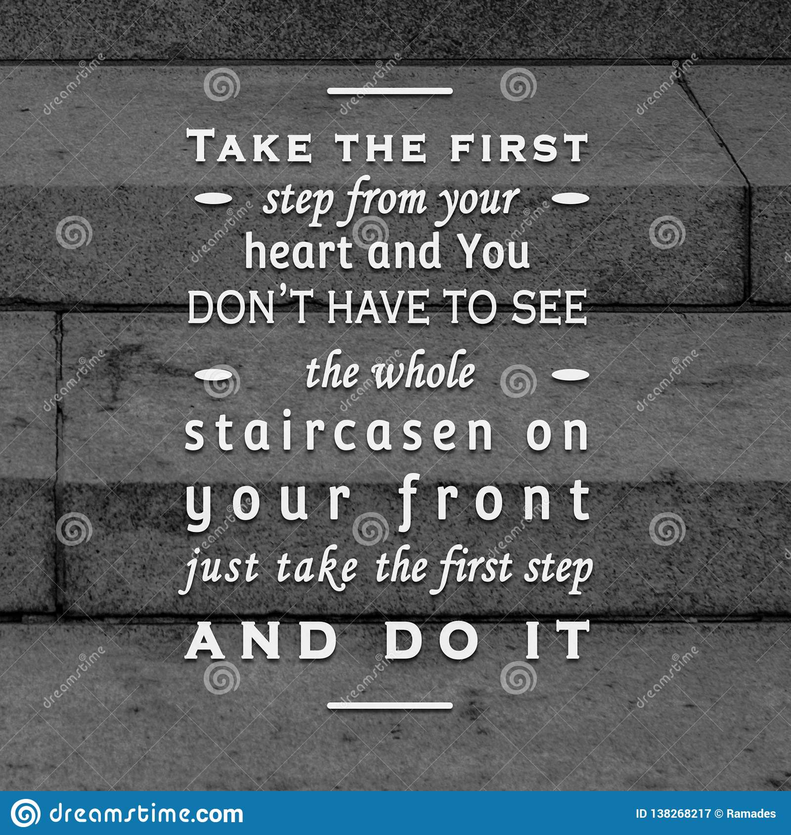 Quotes motivational and inspiring poster stair