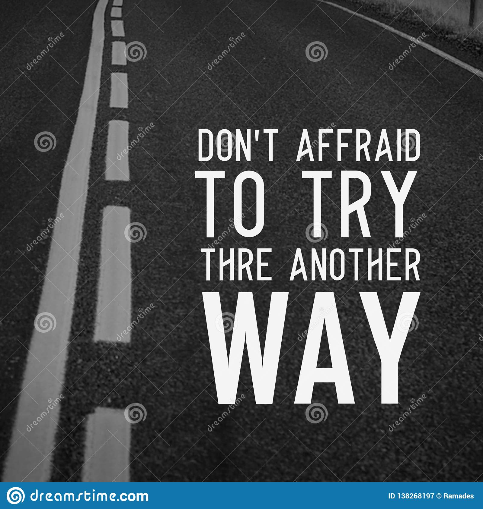 Quotes motivational and inspiring poster road