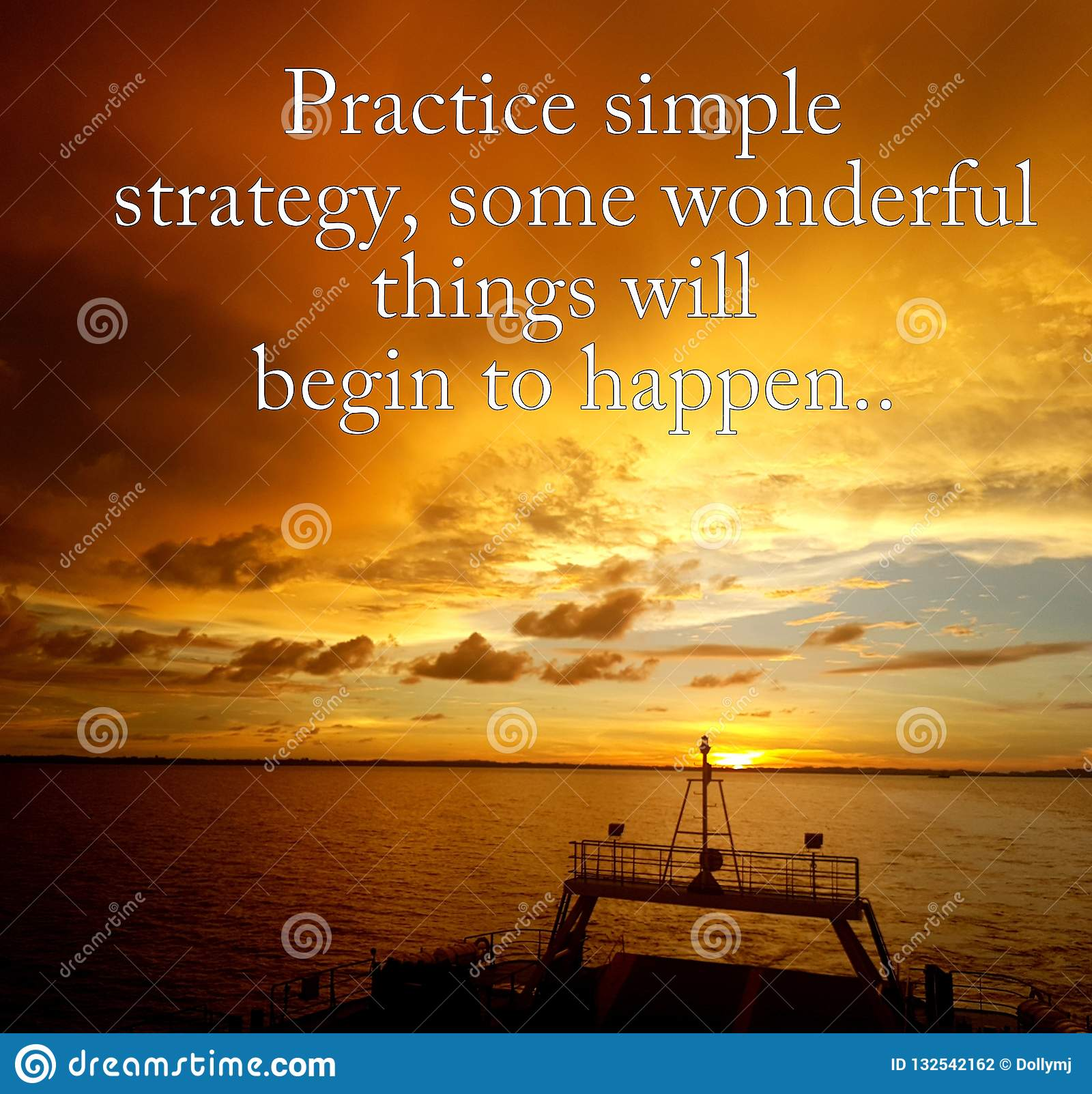 Quotes For Simple Thing In Life Stock Photo Image Of Meditation