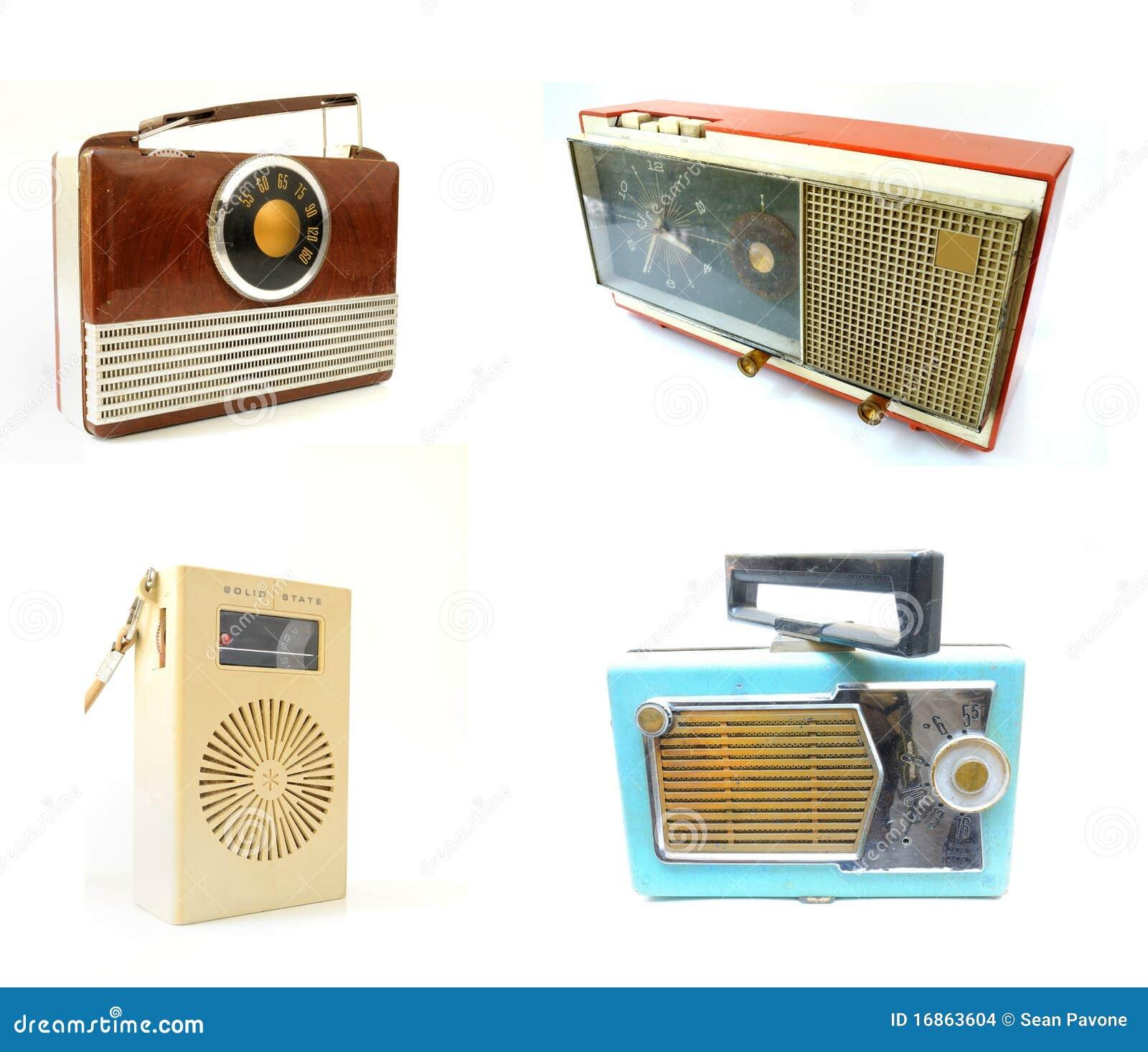Rádios velhos do vintage