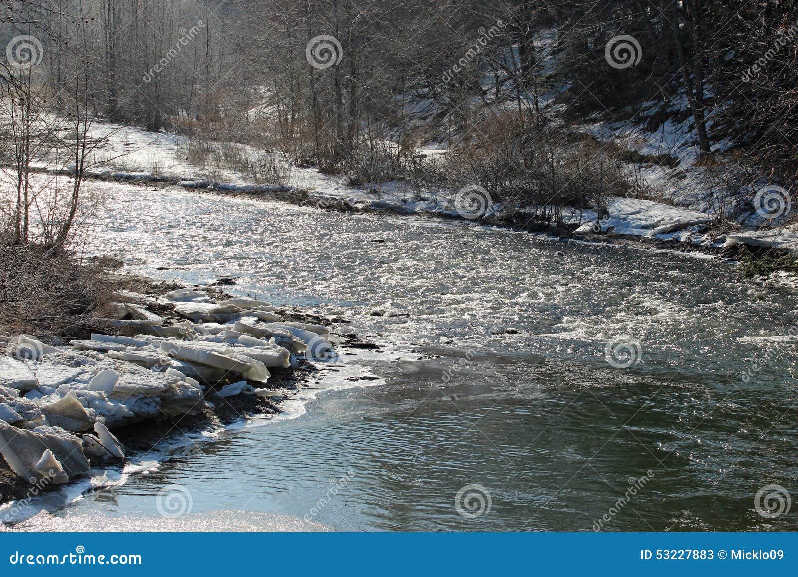 Rápidos del invierno