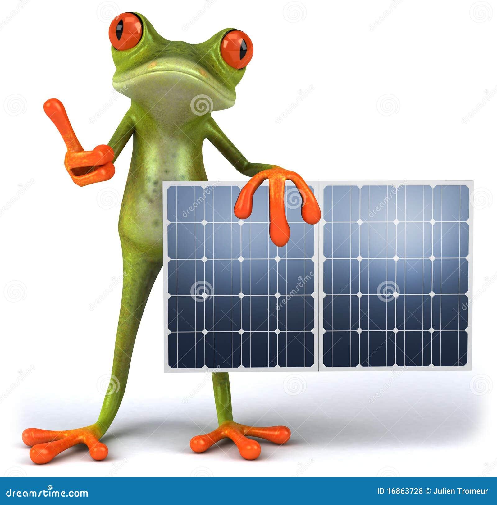 Râ com painéis solares